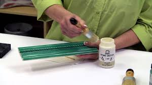 folkart home decor learn how to use clear wax youtube