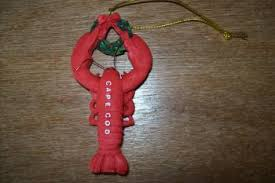 lobster ornament for cape cod