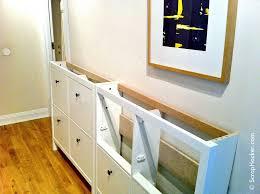 ikea hallway ikea hemnes shoe cabinet hack diy projects pinterest hemnes