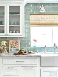 Blue Glass Kitchen Backsplash Blue Kitchen Backsplash Ezpass Club