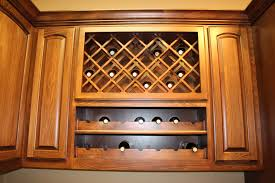 Wine Rack For Kitchen Cabinet Wine Racks Burrows Cabinets Central Texas Builder Direct