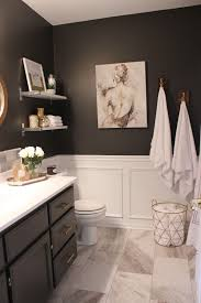 Challenge Fall In Bath One Room Challenge Fall 2015 My Favorite Spaces Gray Vanity