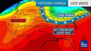 Weather Classic Map Big Changes In Weather This Week The Weather Channel