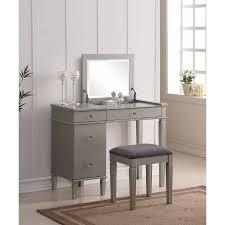 linon home decor vanity set with butterfly bench black linon vanity set getpaidforphotos com