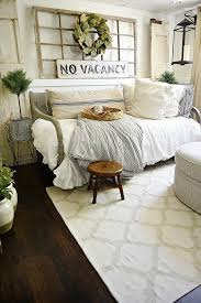 futon living room farmhouse guest bedroom makeover home pinterest bedrooms