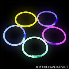 glow bracelets 8 assorted glow bracelets