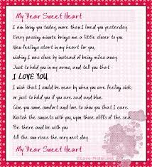 i miss you love letters for him like success