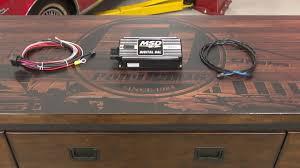 Black 1965 Mustang Mustang Msd 6al Digital Ignition Box With Rev Control Black 1965