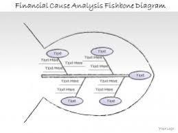 fishbone diagram for problem analysis flat powerpoint design