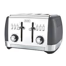 4 Slice Toaster White Breville Vtt764 01 Strata 4 Slice Toaster Breville