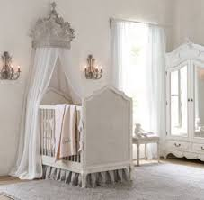 heirloom white demilune metal canopy bed crown