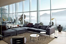 canapé b b italia modular sofa contemporary leather fabric michel b b italia
