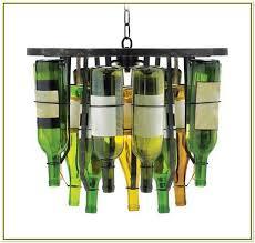 Glass Bottle Chandelier Wine Glass Bottle Chandelier Home Design Ideas