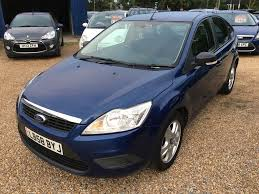 2009 ford focus 1 6 tdci studio blue hatchback 5dr one previous