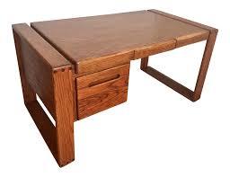 lou hodges california design group oak craftsman desk chairish