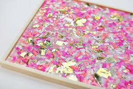 diy tray diy confetti tray delineate your dwelling