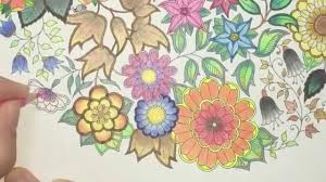 secret garden coloring book page 4 youtube