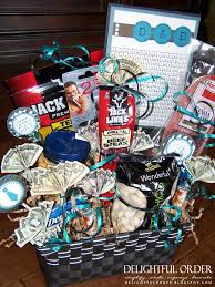 diy valentine u0027s day gift baskets for him darling doodles