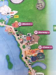 Map Of Epcot Touringplans On Twitter