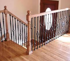 Wooden Stair Banisters Should I Replace My Wood Railing With Metal Google Search Stair