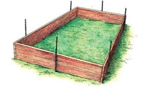 how to build a simple raised bed rodale u0027s organic life