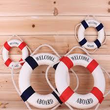 aliexpress com buy navy mediteranean sea life buoy wall stickers