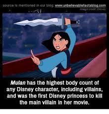Mulan Meme - source is mentioned in our blog wwwunbelievablefactsblogcom image