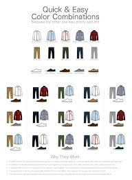 mens clothes color combinations life hacks