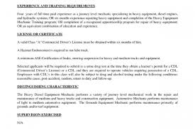 Heavy Equipment Mechanic Resume Examples by Heavy Equipment Mechanic Resume Resume Heavy Equipment Mechanic