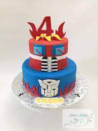 optimus prime birthday optimus prime birthday cake