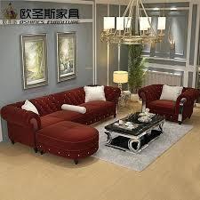 china sofa set designs sofa set cloth design new design sofa cloth wine red china sofa new