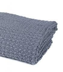 plaid gris pour canapé jeté de canapé couvre lit gris 100 coton plaid addict vente en
