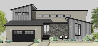 modern home house plans semi custom home plans 61custom modern home plans