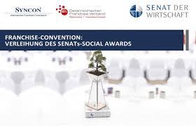 adresse si e social franchise convention verleihung des senats social awards tickets