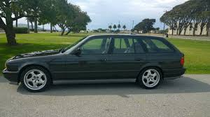 this bmw 3 series wagon with a turbo swap is selling for a