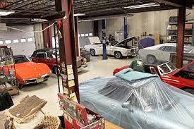 corvette restoration shops netcong auto restorations llc jersey more cars