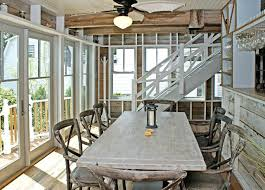 Beachy Dining Room Sets - dining table beach themed dining table and chairs decor room