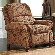 recliner chairs design pictures with floral fabric cushioning and
