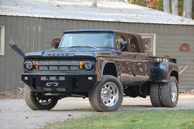 dodge ram dually conversion this 1969 dodge d200 power wagon mega cab is one of a the drive