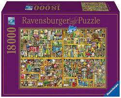ravensburger magical bookcase jigsaw puzzle 18000