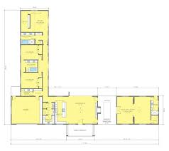 house plan new plans floor one story l shaped remarkable best