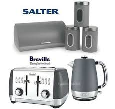 Breville Electronic Toaster Breville Strata Kettle And Toaster Salter Marble Canisters