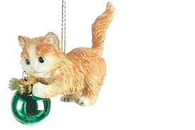 26 cat ornaments to decorate your tree this