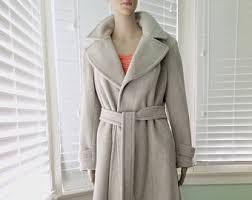 long wool coat etsy