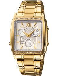 Jam Tangan Casio Gold casio wanita sheen shn 6500gd 7a jam tangan casio