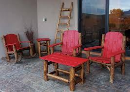 patio furniture colorado log furniture