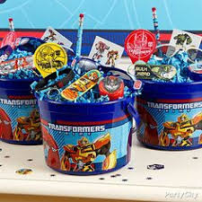 transformer party supplies transformers birthday party goodie bags by sweetpartygoodies