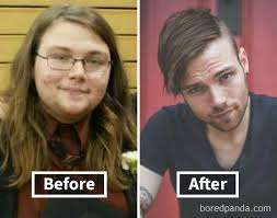 slimming haircuts for overweight 50 year olds 50 amazing before after pics reveal how weight loss affects your