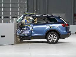mazda car ratings 2014 mazda cx 9 driver side small overlap iihs crash test youtube