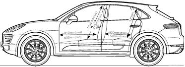 porsche vector the blueprints com vector requests porsche macan s 2014